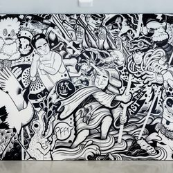 Mural En Masse, Musée d'art de Joliette