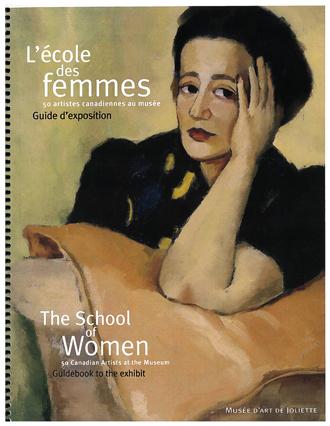 L'école des femmes : 50 artistes canadiennes au musée