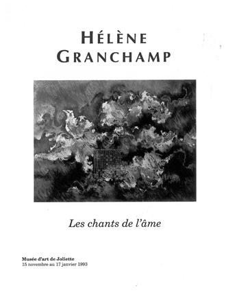 Hélène Grandchamp.Les chants de l'âme