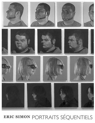 Eric Simon.Portraits séquentiels