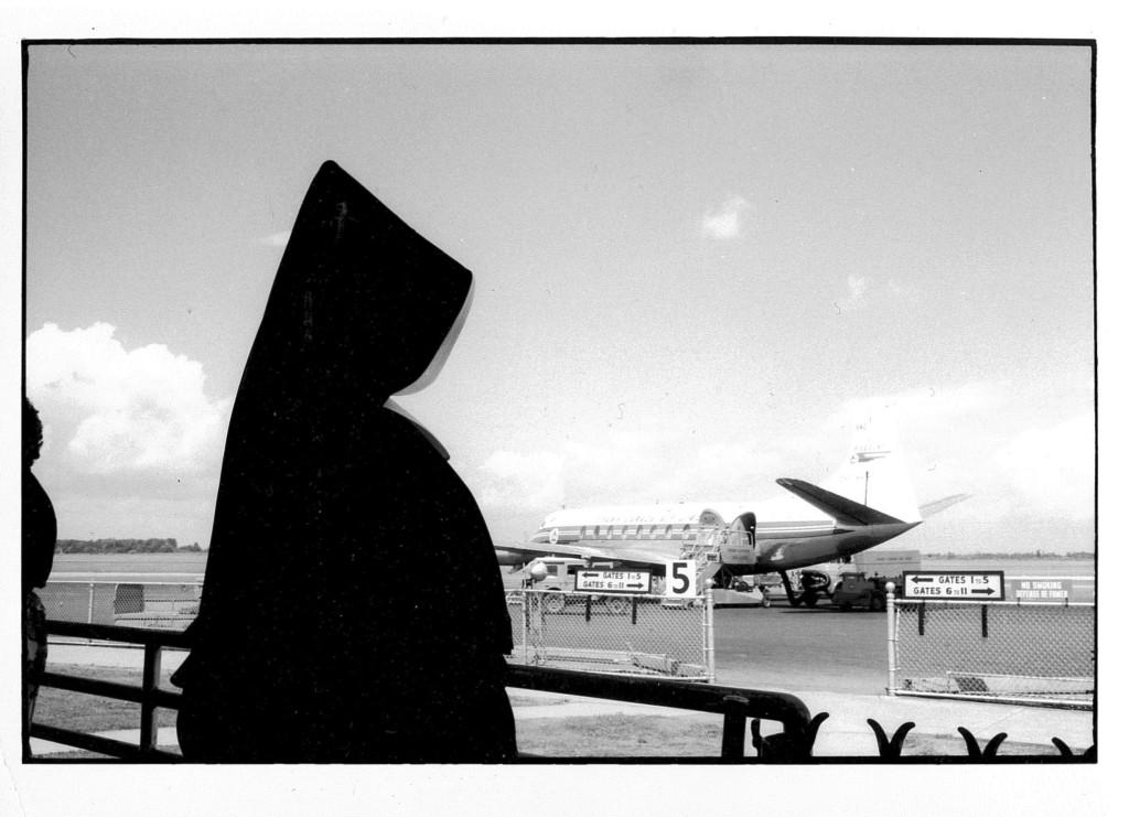 Nun at Dorval Airport, Montreal