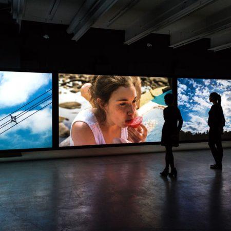 Jacynthe Carrier. Paysage: faire le jour [Landscape: shaping the day], MAJ, 2018.