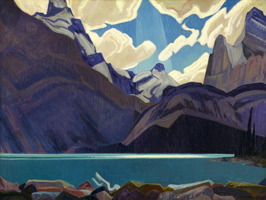 J. E. H. MacDonald, Clouds Over Lake O'Hara, 1930.