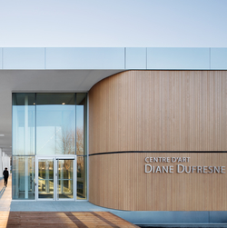 Centre d'art Diane-Dufresne. Photo : Adrien Williams