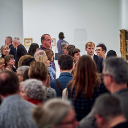 Vernissage, Musée d'art de Joliette, 2019. Photo: Romain Guilbault