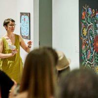 Musée d'art de Joliette, exposition de Christi Belcourt, Visite commentée, 2019.