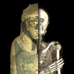 Momie de Irthorru, Basse Époque, 26e  dynastie, vers 600 av. J.-C., EA 20745 © The Trustees of the British Museum