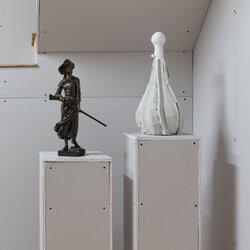 Regards en dialogue : Hébert, Laliberté, Suzor-Coté et Fleming. La collection A.K. Prakash de sculptures historiques, un don au Musée d'art de Joliette